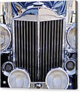 1933 Packard 12 Convertible Coupe Grille Acrylic Print