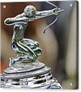 1933 Pierce-arrow 1236 2-door Convertible Coupe Hood Ornament Acrylic Print by Jill Reger