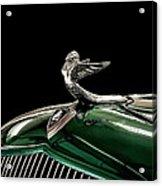 1933 Plymouth Mascot Acrylic Print