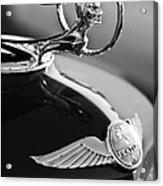 1933 Pontiac Hood Ornament 4 Acrylic Print