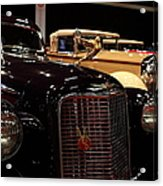 1934 Cadillac V16 Aero Coupe - 5d19877 Acrylic Print by Wingsdomain Art and Photography