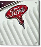 1934 Ford Emblem Acrylic Print