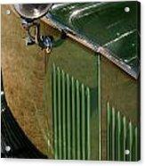 1934 Green Rolls Acrylic Print