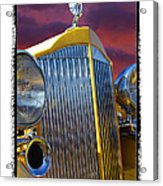 1934 Packard With  Brush Frame Acrylic Print