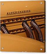 1935 Auburn Supercharged  Acrylic Print