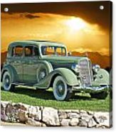 1935 Buick 61 Sedan Acrylic Print