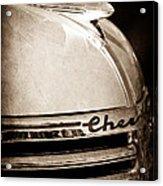 1935 Chevrolet Hood Ornament - Emblem Acrylic Print