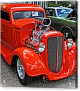 1935 Chevy Coupe Acrylic Print