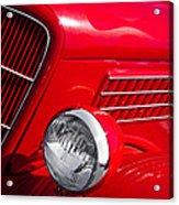 1935 Ford Humpback Acrylic Print by David Patterson