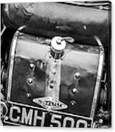 1935 Frazer Nash Tt Replica Shelsley -0223bw Acrylic Print