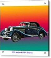 Maybach Zepplin Ds-8 Acrylic Print