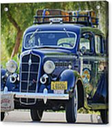 1935 Plymouth Taxi Cab Acrylic Print