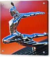 1935 Pontiac Sedan Hood Ornament 2 Acrylic Print