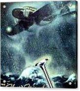 1936 - Thompson Valves Advertisement - Poster - Color Acrylic Print