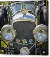 1936 Bentley 4.5 Litre Lemans Rc Series Acrylic Print