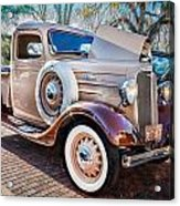 1936 Chevrolet Pick Up Truck Painted    Acrylic Print