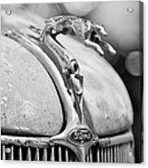 1936 Ford Cabriolet Hood Ornament - Emblem Acrylic Print
