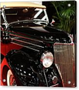 1936 Ford Deluxe Roadster - 5d19963 Acrylic Print