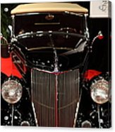 1936 Ford Deluxe Roadster - 5d19964 Acrylic Print by Wingsdomain Art and Photography