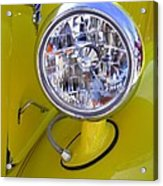 1936 Ford Pickup Headlamp Acrylic Print