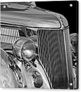 1936 Ford - Stainless Steel Body Acrylic Print
