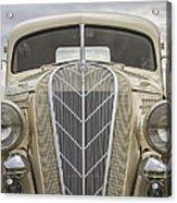 1936 Hudson Terraplane Truck Acrylic Print