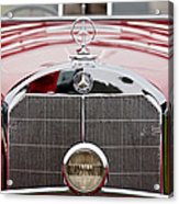 1936 Mercedes-benz 540k Mayfair Special Roadster Grille Acrylic Print