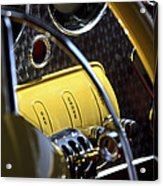 1937 Cord 812 Phaeton Controls Acrylic Print