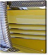 1937 Cord 812 Phaeton Hood Fender Acrylic Print