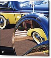 1937 Cord 812 Phaeton Reflected Into Packard Acrylic Print