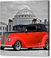 1937 Ford Convertible Sedan Acrylic Print