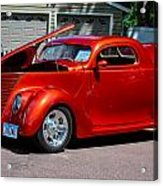1937 Ford Coupe Acrylic Print