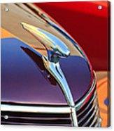 1937 Ford Hood Ornament 2 Acrylic Print
