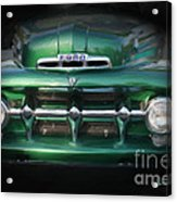 1937 Ford Pick Up Truck Front End Acrylic Print