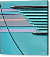 1937 Ford Sedan Slantback Door Detail Acrylic Print