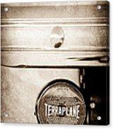 1937 Hudson Terraplane Pickup Truck Taillight Emblem Acrylic Print
