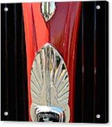 1937 Plymouth  Emblem Acrylic Print