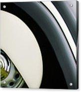 1938 Bmw 327 - 8 Cabriolet Rear Wheel Emblem -2668c Acrylic Print