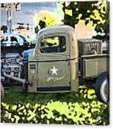 1938 Chevy Pick Up Truck Rat Rod Acrylic Print