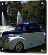 1938 Ford Coupe Hot Rod Acrylic Print