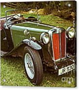 1938 Mg Ta Priced At Only 1550. In 1970.  Acrylic Print