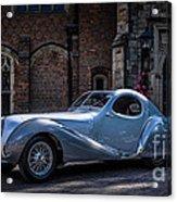 1938 Talbot Lago 150 - C  Teardrop Coupe Acrylic Print