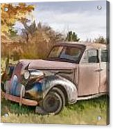 1939 Buick Special Acrylic Print