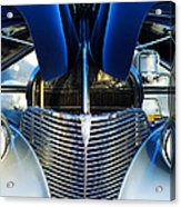 1939 Chevrolet Coupe Grille -115c Acrylic Print