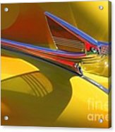 1939 Chevy Hood Ornament Acrylic Print