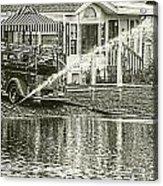 1939 Fire Truck Acrylic Print
