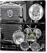 1939 Jaguar S100 Roadster Replica Acrylic Print
