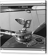 1939 M K 4 Bentley Flying B Mascot Acrylic Print
