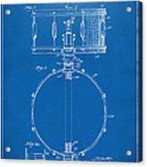 1939 Snare Drum Patent Blueprint Acrylic Print