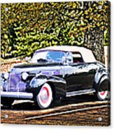 1940 Cadillac Coupe Convertible Acrylic Print